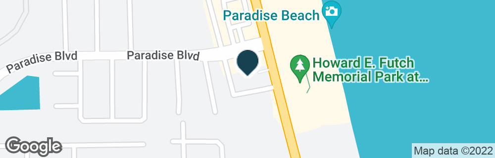 Google Map of2200 N HIGHWAY A1A
