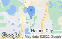 Map of Haines City, FL