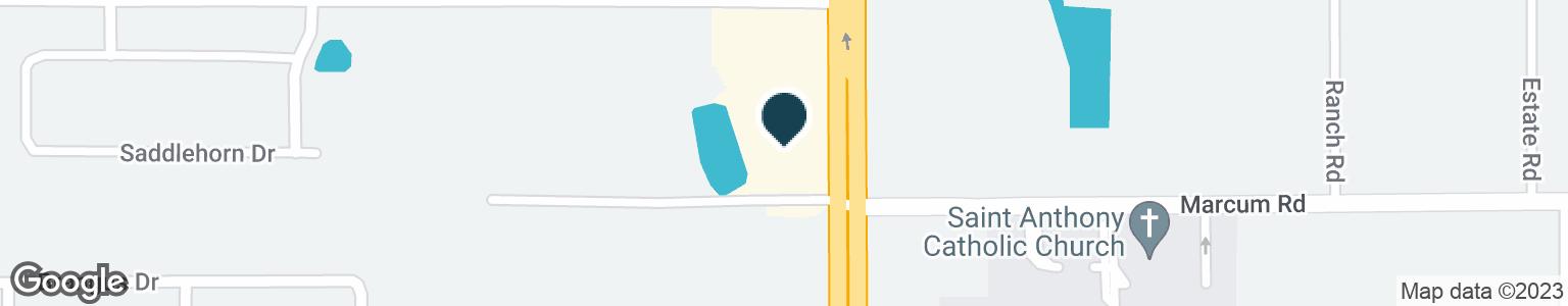 Google Map of6730 US HIGHWAY 98 N