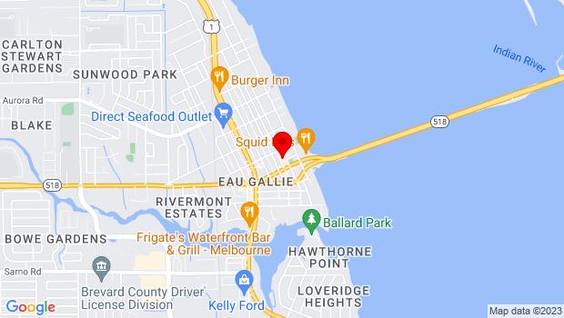 Google Map of 1490 Highland Ave., Ste A, Melbourne, Florida 32935