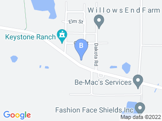 Map of The Dog House   Boarding Daycare Training Dog Boarding options in Odessa | Boarding