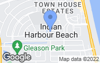 Map of Indian Harbour Beach, FL