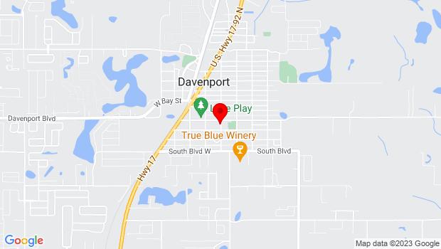 Google Map of 8 W. Palmetto St., Davenport, FL 33837