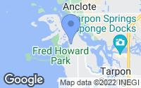 Map of Tarpon Springs, FL