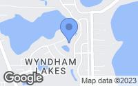 Map of Odessa, FL