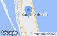 Map of Satellite Beach, FL