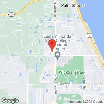 Map of Hair Cuttery at 4100 N Wickham Rd Unit 126, Melbourne, FL 32935