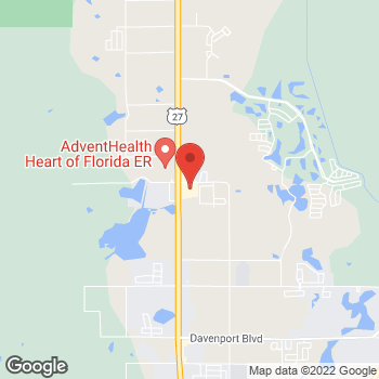 Map of Hair Cuttery at 39879 Us Highway 27, Davenport, FL 33837