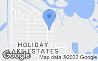 Map of Holiday, FL