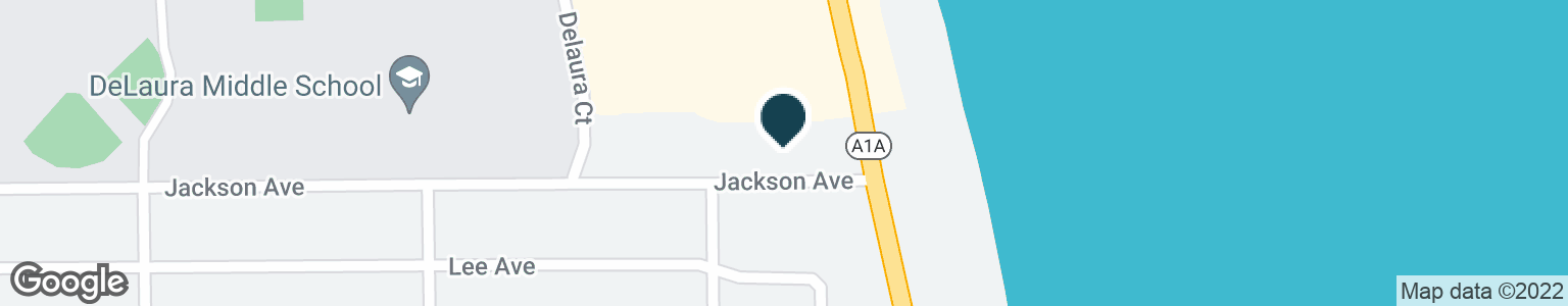 Google Map of1098 HIGHWAY A1A