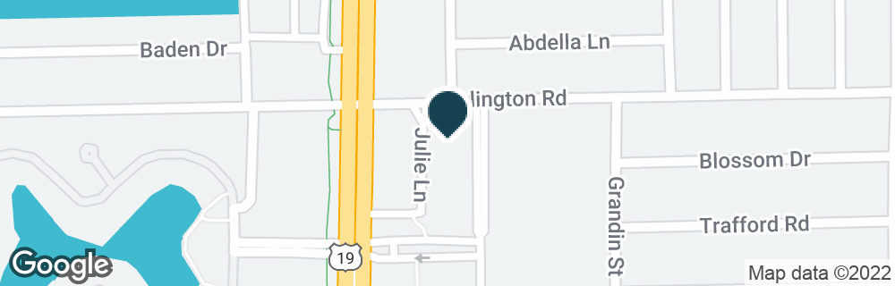 Google Map of2480 US HIGHWAY 19