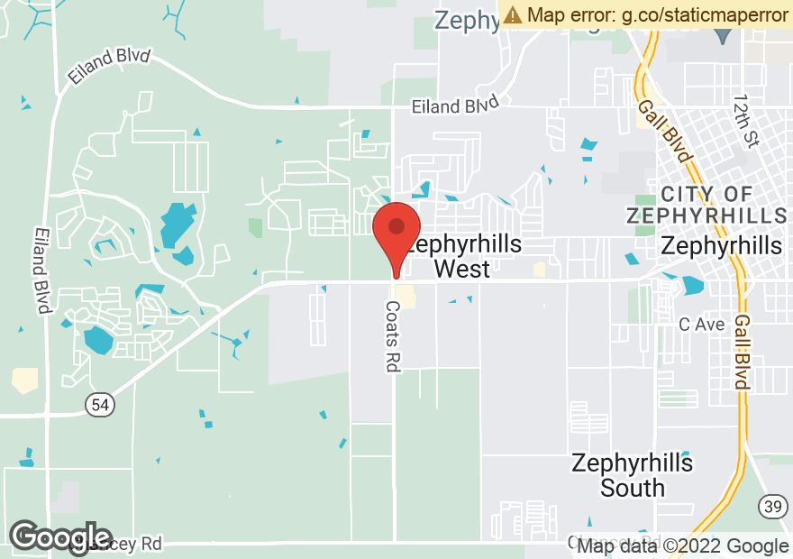 Google Map of 36515 STATE ROAD 54