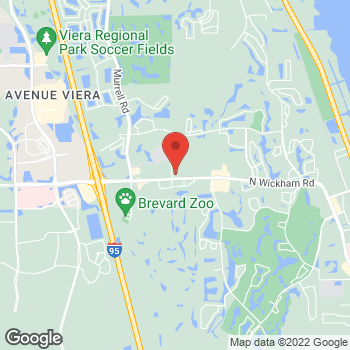 Map of Robert Aranibar, MD at 7970 Wickham Road, Melbourne, FL 32940