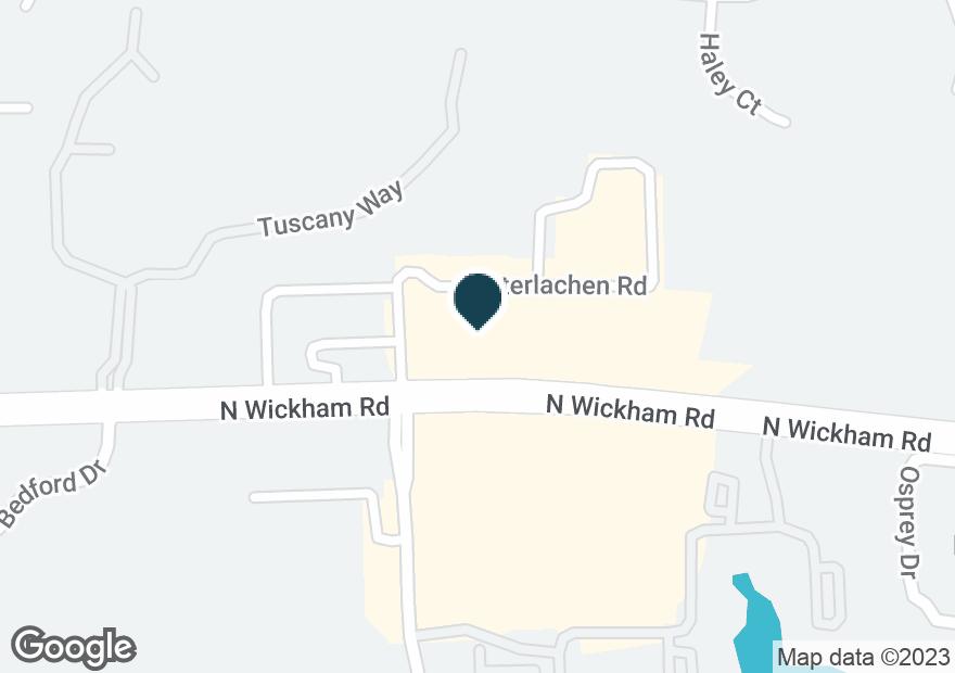 Google Map of7780 N WICKHAM RD