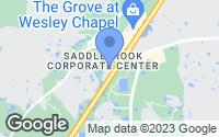 Map of Wesley Chapel, FL