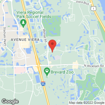 Map of Jaime Furman, MD at 8075 Spyglass Hill Road, Melbourne, FL 32940