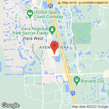Map of Dr. Kenneth Calhoun at 6729 Colonnade Ave, Viera, FL 32940