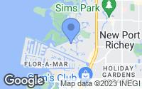 Map of New Port Richey, FL