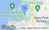 Map of Port Richey, FL
