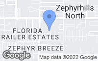 Map of Zephyrhills, FL