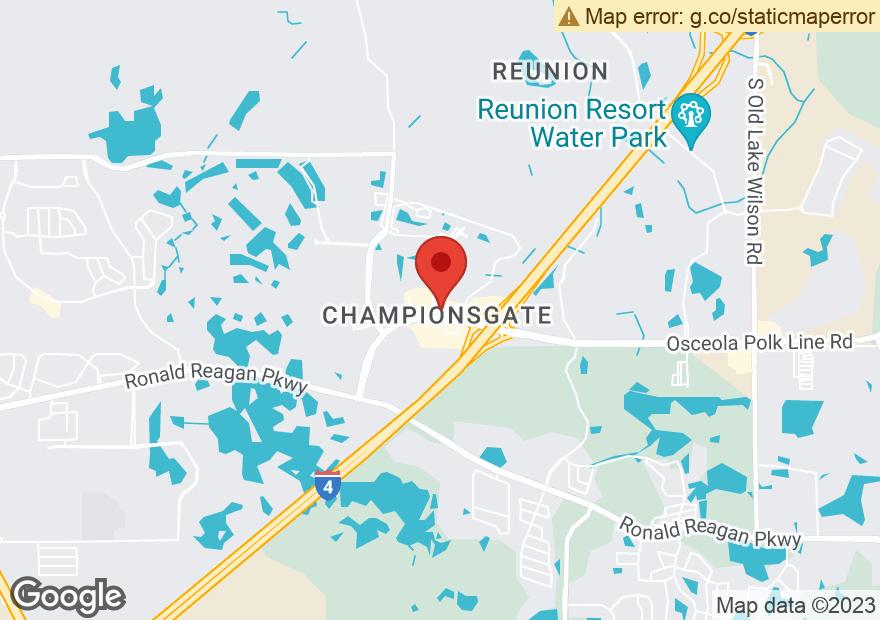 Google Map of 8265 CHAMPIONS GATE BLVD