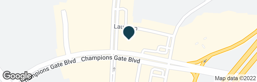 Google Map of8265 CHAMPIONS GATE BLVD