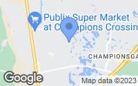 Map of Four Corners, FL