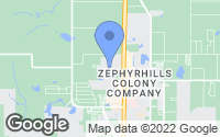 Map of Zephyrhills, FL