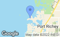 Map of Port Richey, FL