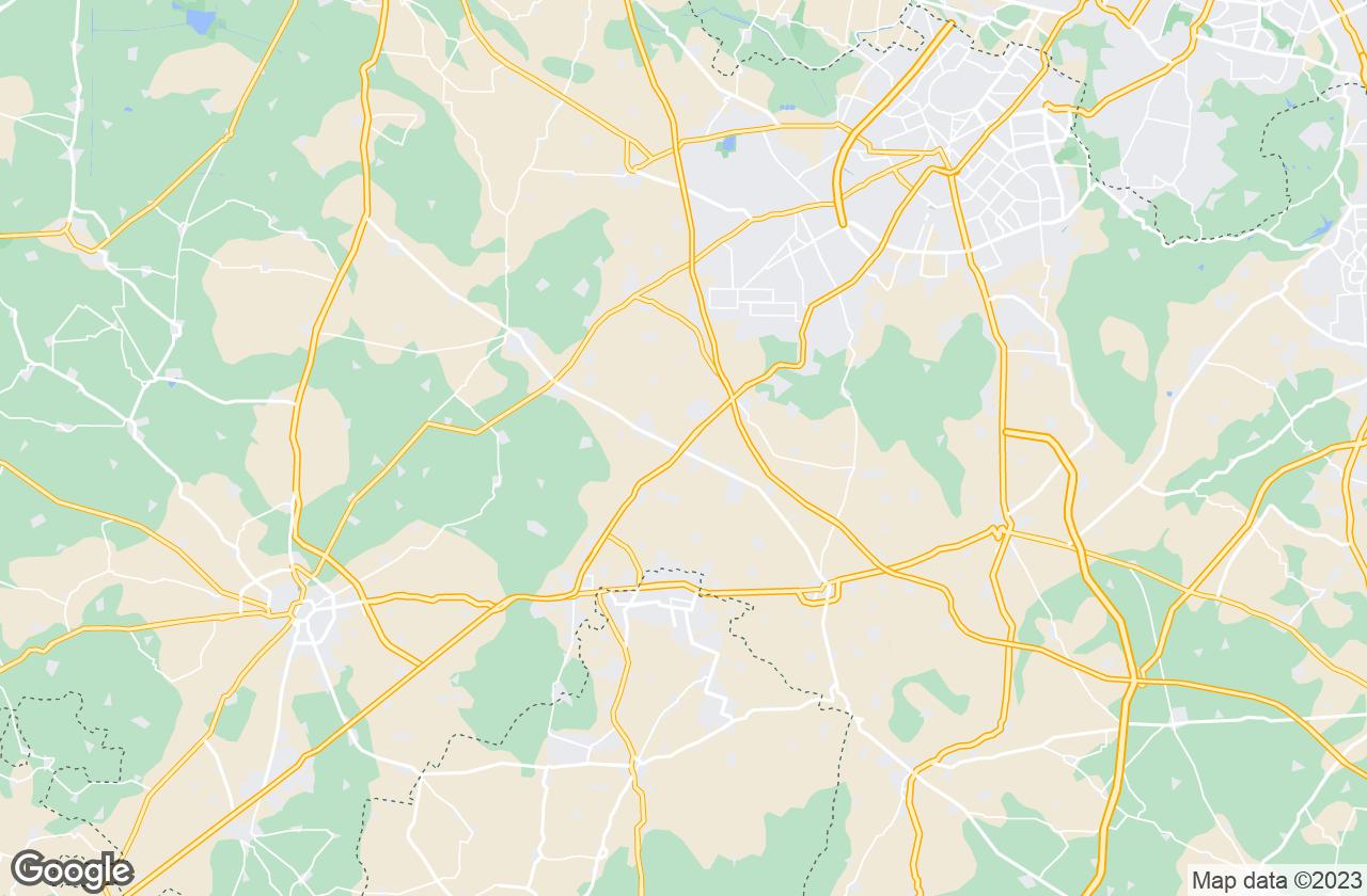 Google Map of بيلاس بور