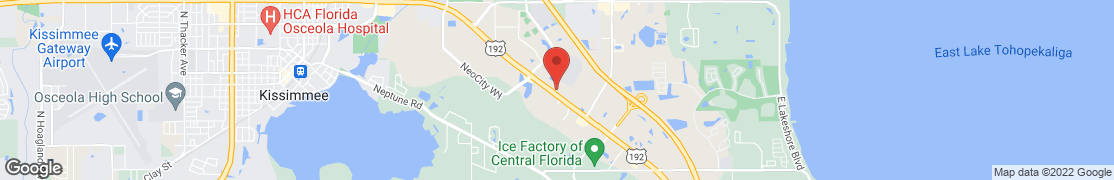 Map of 2051 E. Irlo Bronson Memorial Hwy in Kissimmee