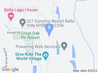 Map of Bass Pet Motel Dog Boarding options in Kissimmee | Boarding