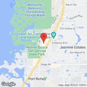 Map of 9409 US Highway 19 in Port Richey