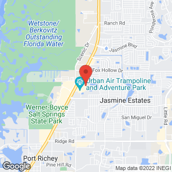 Map of Bed Bath & Beyond at 9642 U.S. Highway 19, Port Richey, FL 34668