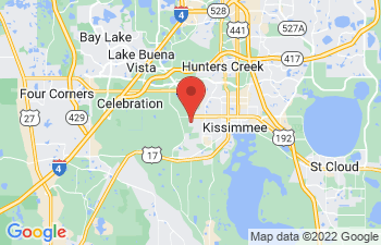 Map of Kissimmee