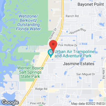 Map of Check `n Go at 9658 US Highway 19 N, Port Richey, FL 34668