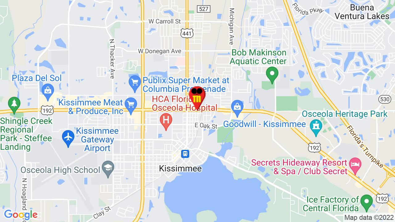 Google Map of Kissimmee Pest Control