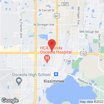 Map of Arby's at 219 W Vine St, Kissimmee, FL 34741