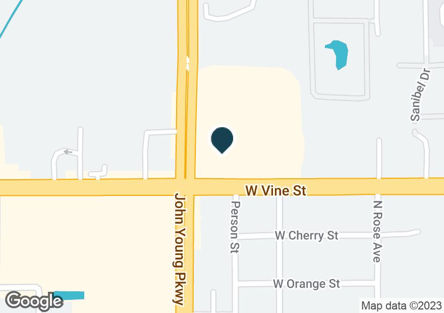 Google Map of1111 W VINE ST