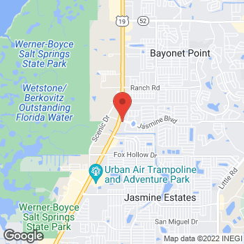 Map of Arby's at 10442 U S Hwy 19, Port Richey, FL 34668