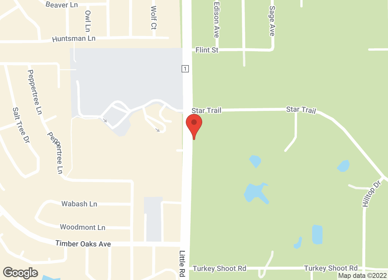 Google Map of VCA Little Animal Hospital