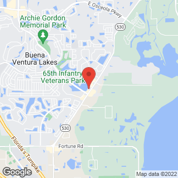 Map of Value Pawn & Jewelry at 2601 Boggy Creek Road, Kissimmee, FL 34744