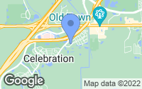 Map of Kissimmee, FL