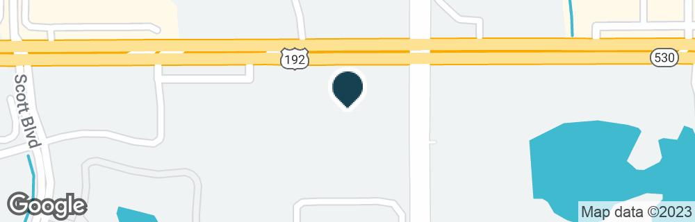 Google Map of5180 W IRLO BRONSON MEMORIAL HWY