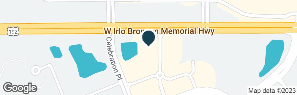 Google Map of6230 W IRLO BRONSON MEMORIAL HWY