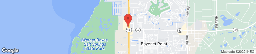 Map of 12105 US Highway 19 N in Bayonet Point