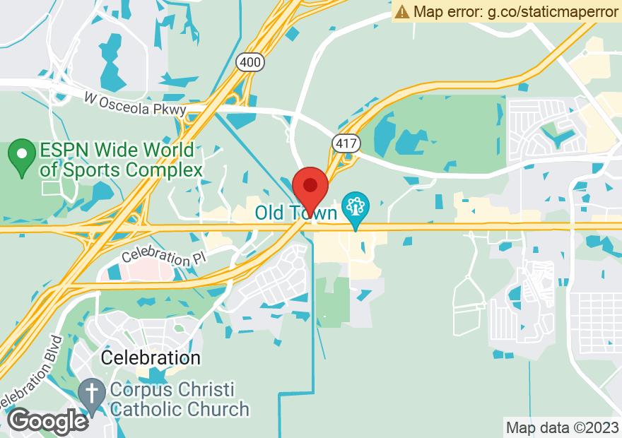 Google Map of 5935 W IRLO BRONSON MEMORIAL HWY
