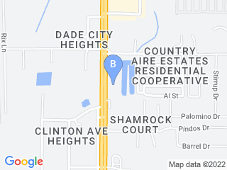 Map of Florida Dog With Style Dog Boarding options in Dade City | Boarding