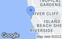 Map of Merritt Island, FL