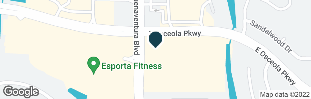 Google Map of2050 E OSCEOLA PKWY